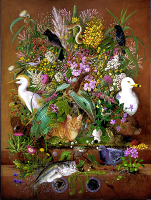 Isabella Kirkland, Ascendant, 2007, from Taxa, #2 of 6 ikf0701