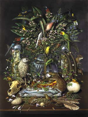 Isabella Kirkland, Gone, 2007, from Taxa, #6 of 6 ikf0701