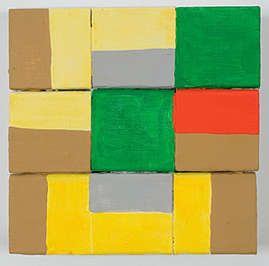 Nancy Shaver, Assortment: brown yellow green, red and gray, 2006 nsf0610