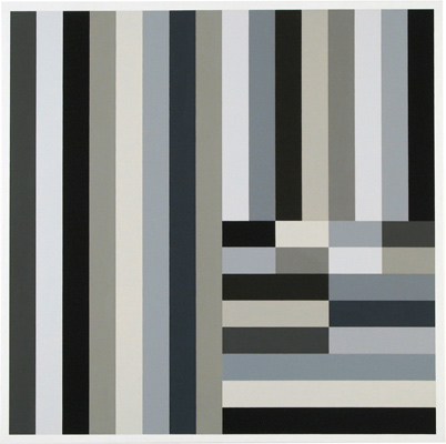 Cary Smith, Grey Blocks #17, 2012