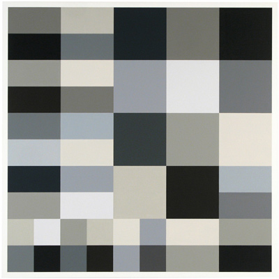 Cary Smith, Grey Blocks #23, 2012