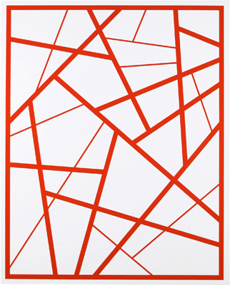 Cary Smith, Straight Lines 5, 2014