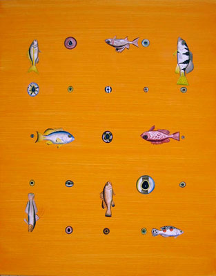 Ben Snead, Salt Water Fish and Eye Balls, 2007 bsf0703