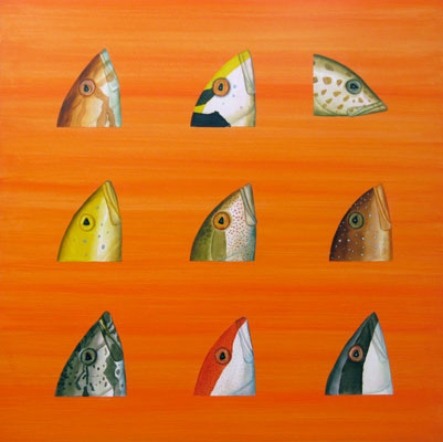 Ben Snead, Grouper Heads, 2008 bsf0802