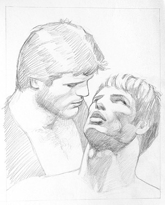 Tom of Finland, Untitled (preliminary drawing), undated toffxx13